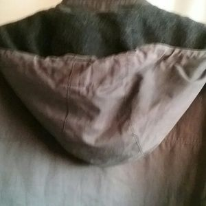 Banana Republic Jackets & Coats - BANANA REPUBLIC TRENCH COAT Lined HOOD button Zip
